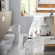 Bath room and Kitchen