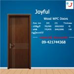 Joyful WPC Doors (သစ္အစားထိုး Hotel သံုးတံခါး)