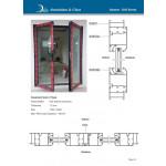 Casement Door 2 Type (တံခါးများ)