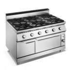 900 Series 6-Burner Gas Range With Oven