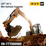 CAT 307.5 Mini Hydraulic Excavator