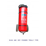 ABC Dry Powder Trolley Type